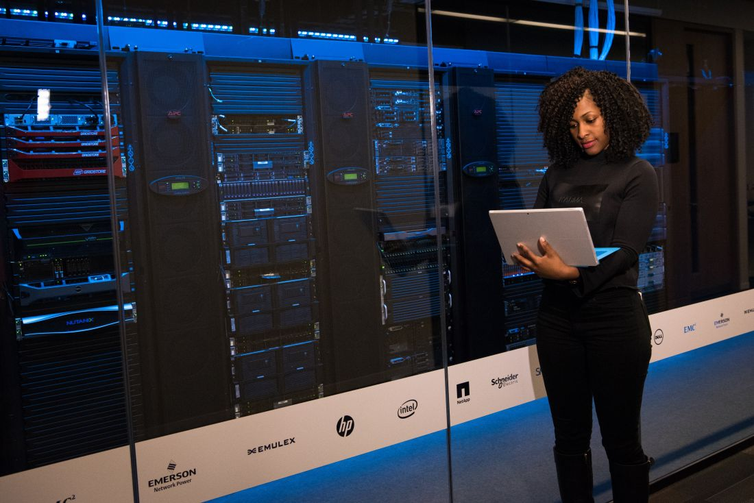 Server & tech equipment utilization management system
